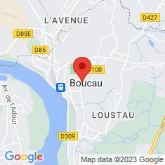 Carte / Plan Boucau