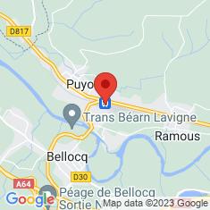 Carte / Plan Gare de Puyoô