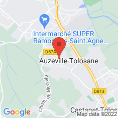 Carte / Plan Auzeville-Tolosane