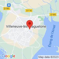 Carte / Plan Église Saint-Étienne de Villeneuve-lès-Maguelone