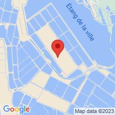 Carte / Plan Salins d'Aigues-Mortes