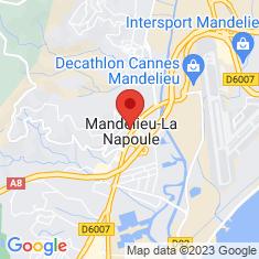 Carte / Plan Mandelieu-la-Napoule