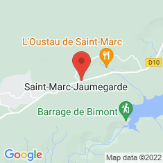 Carte / Plan Saint-Marc-Jaumegarde
