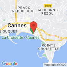 Carte / Plan InterContinental Carlton Cannes