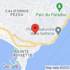 Carte / Plan Villa Champfleuri