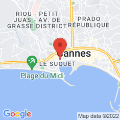 Carte / Plan Cannes
