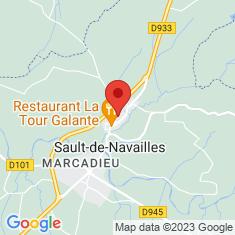 Carte / Plan Sault-de-Navailles