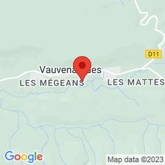 Carte / Plan Château de Vauvenargues