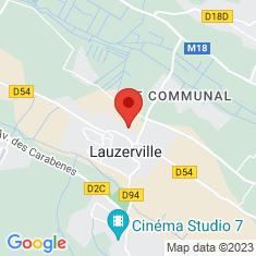 Carte / Plan Lauzerville