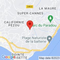 Carte / Plan Lotissement de Super-Cannes