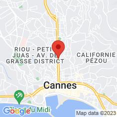 Carte / Plan Boulevard Carnot (Cannes)