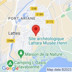 Carte / Plan Musée archéologique Henri-Prades