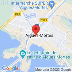 Carte / Plan Église Notre-Dame-des-Sablons d'Aigues-Mortes
