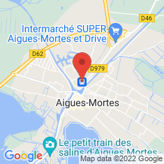 Carte / Plan Gare d'Aigues-Mortes