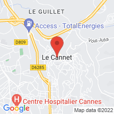 Carte / Plan Le Cannet