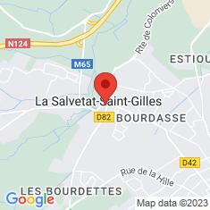 Carte / Plan La Salvetat-Saint-Gilles