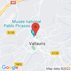 Carte / Plan Vallauris