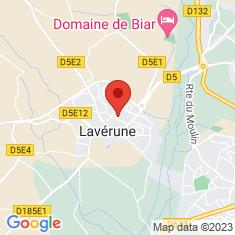 Carte / Plan Lavérune