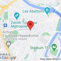 Carte / Plan Arènes (pôle multimodal de Toulouse)