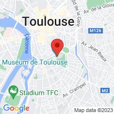 Carte / Plan Muséum de Toulouse