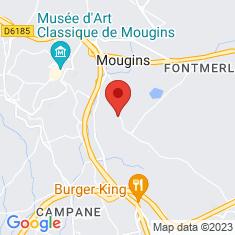Carte / Plan Chapelle Notre-Dame-de-Vie de Mougins