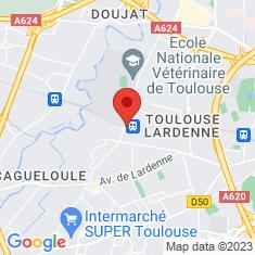 Carte / Plan Gare de Lardenne