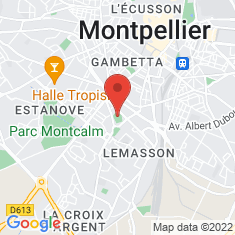 Carte / Plan Stade Sabathé