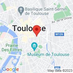 Carte / Plan Cathédrale Saint-Étienne de Toulouse