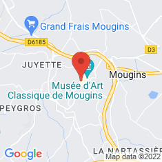 Carte / Plan Mougins