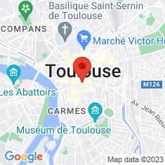 Carte / Plan Musée des Augustins de Toulouse
