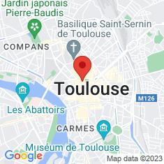 Carte / Plan Capitole de Toulouse