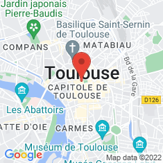 Carte / Plan Toulouse
