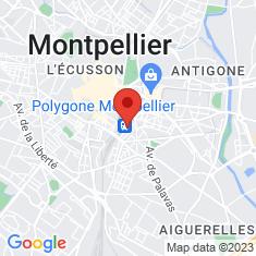 Carte / Plan Gare de Montpellier-Saint-Roch