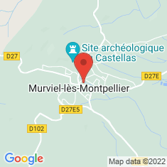 Carte / Plan Murviel-lès-Montpellier