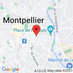 Carte / Plan Parc des Sports de l'avenue du Pont Juvénal