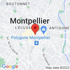 Carte / Plan Place de la Comédie