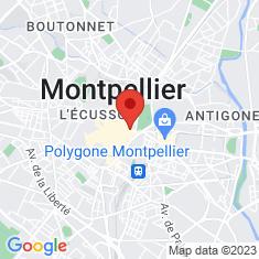 Carte / Plan Chapelle Sainte-Foy de Montpellier, dite chapelle des Pénitents blancs