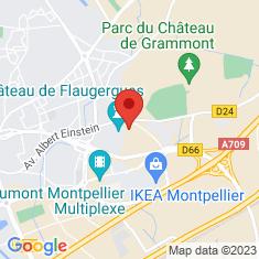 Carte / Plan Château de Flaugergues
