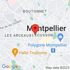 Carte / Plan Promenade du Peyrou