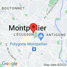 Carte / Plan Musée Fabre