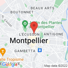 Carte / Plan Montpellier