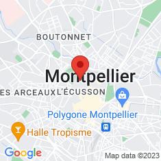 Carte / Plan Cathédrale Saint-Pierre de Montpellier