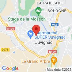 Carte / Plan Juvignac