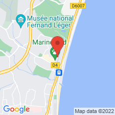 Carte / Plan Marineland d'Antibes