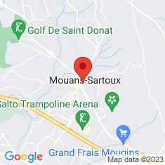 Carte / Plan Mouans-Sartoux