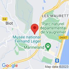 Carte / Plan Musée national Fernand-Léger