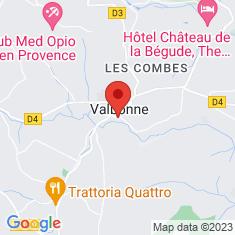 Carte / Plan Abbaye de Valbonne (Valbonne)