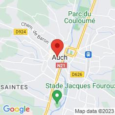 Carte / Plan Cathédrale Sainte-Marie d'Auch