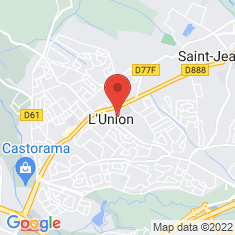 Carte / Plan L'Union (Haute-Garonne)