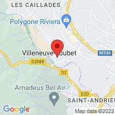 Carte / Plan Villeneuve-Loubet